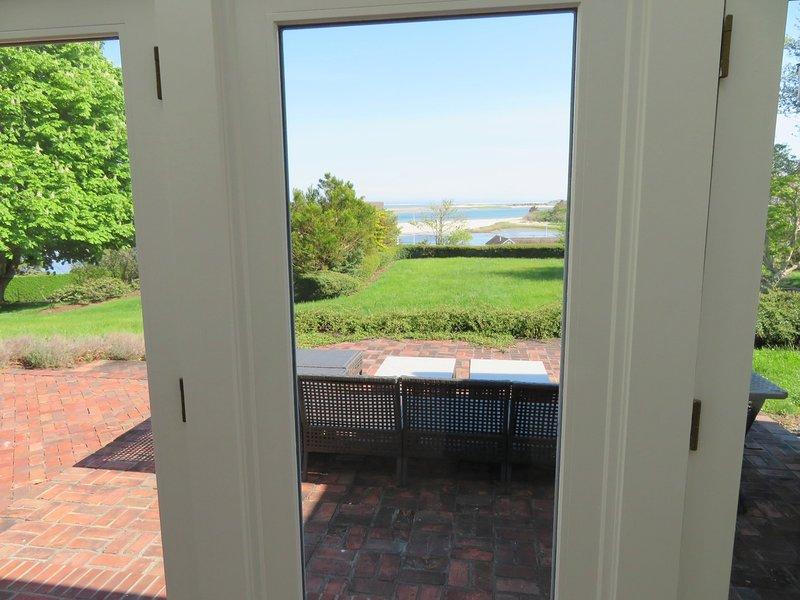 Utsikt från solrummet utanför sovrummet - 117 Old Wharf Road Chatham Cape Cod - New England Vacation Rentals