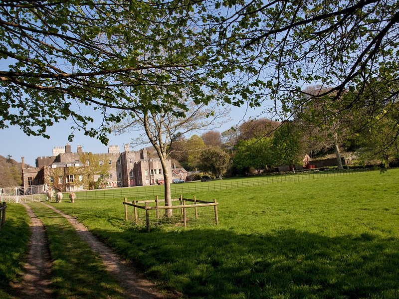 Hartland Abbey a short drive away