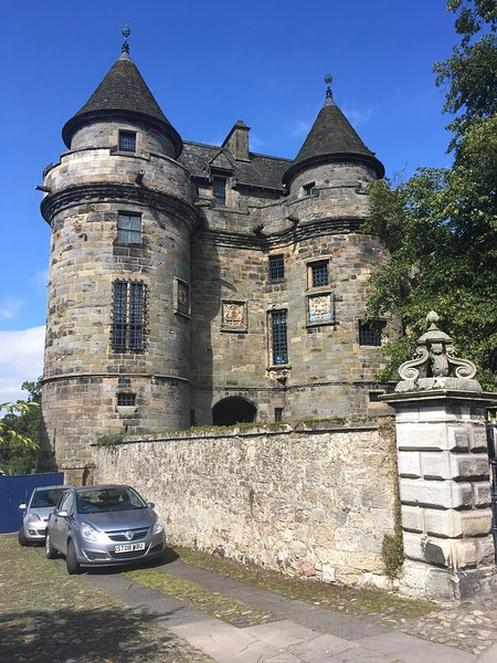 Falkland Palace and Gardens is only 20mins away and is one of many great days out from the Lodge