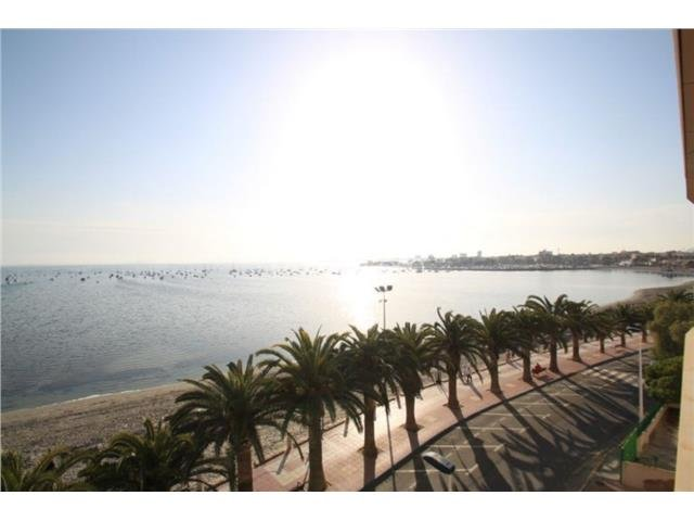Lo Pagan primera linea frente de la playa Villananitos piso & vistas preciosas!, vacation rental in Lo Pagán
