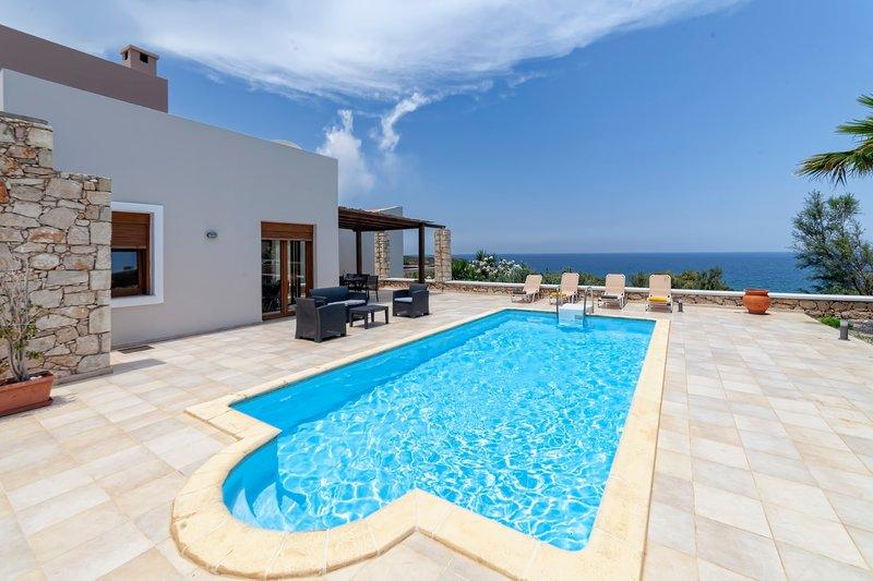 karena seaview villa, alquiler de vacaciones en Creta