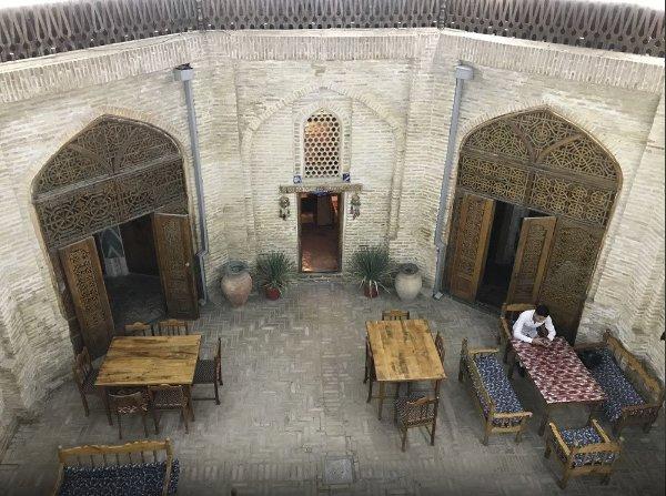 Bukhara Hotels Miraziz Ambari - Twin Room 1, alquiler de vacaciones en Uzbekistán