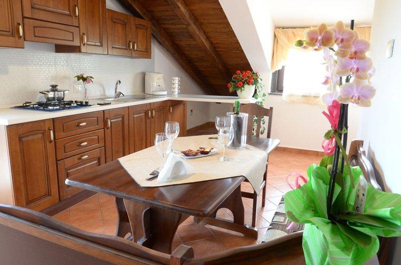 Apartment with mountain view, alquiler de vacaciones en Zafferana Etnea