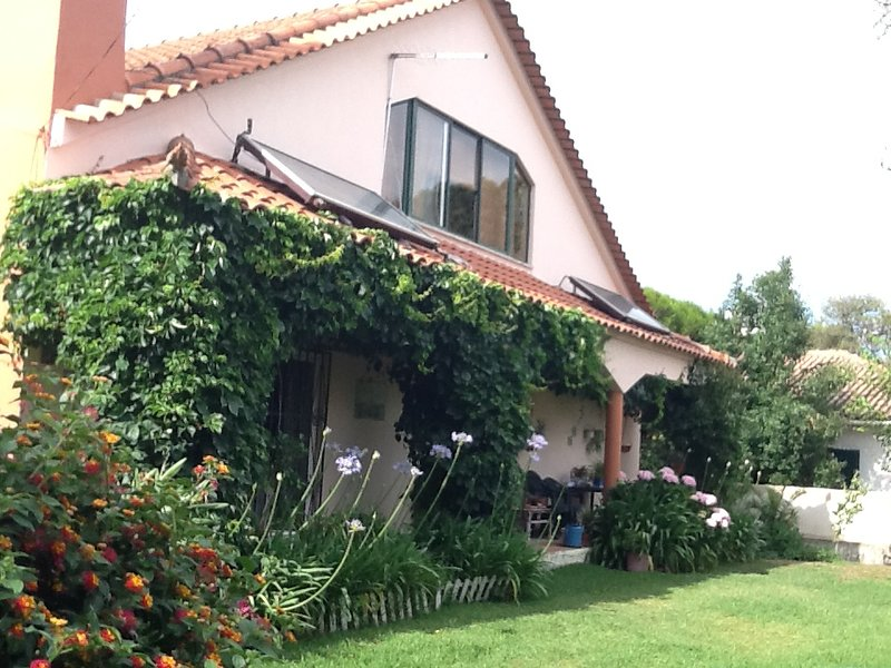 Nice house with terrace & Wifi, holiday rental in Azoia