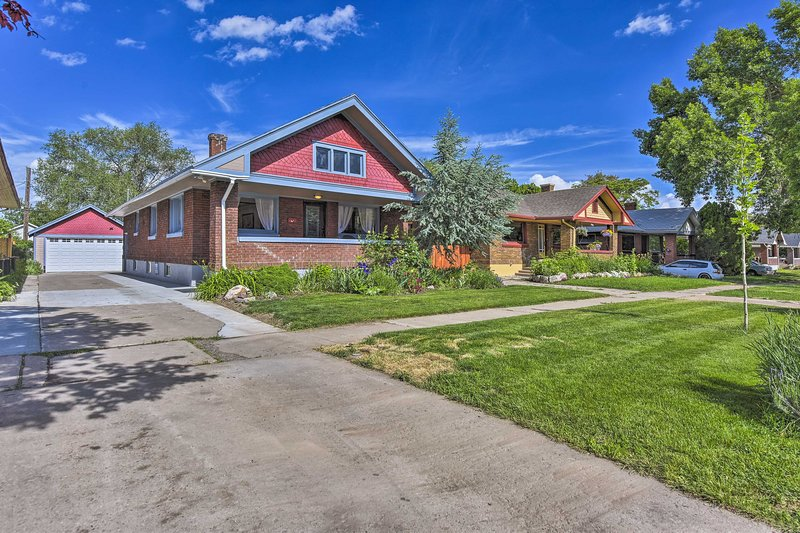 This Ogden home is 10 minutes from downtown!