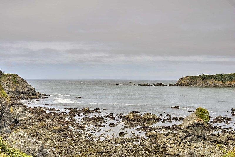 La cabeza a Chetco Point Park para encontrar senderos frente al mar y piscinas de la marea!