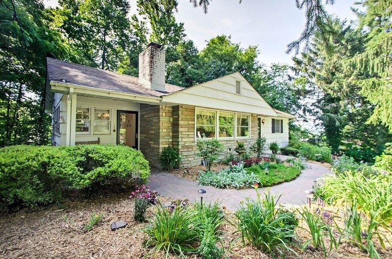 Flucht in den Bergen von North Carolina in diesem Ferienhaus Haus!