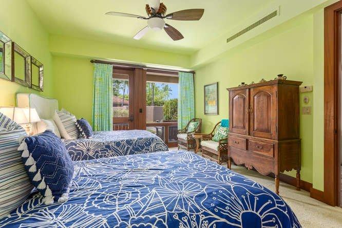 Third Bedroom w/ Door to Front Patio
