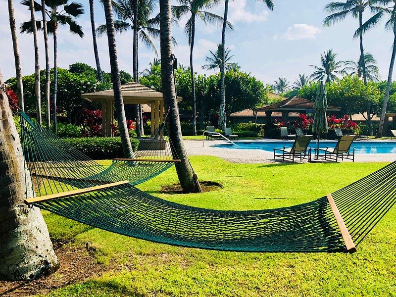 Fairway Villa Hammocks Around the Pool,  Reserved for Guests of Fairway Villas