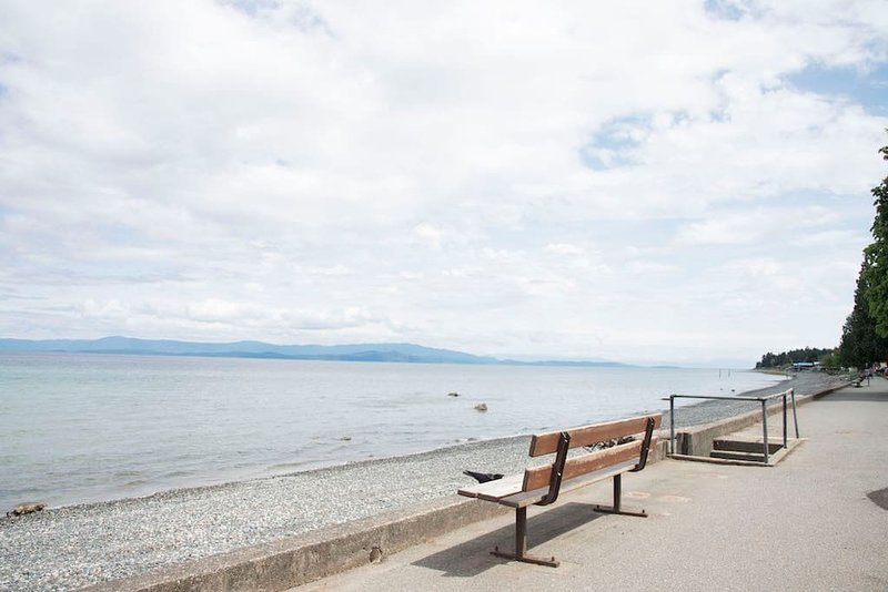 Boardwalk at Qualicum Beach 30 KM to the south