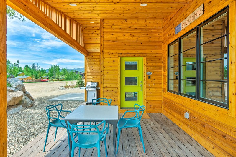 Stay at 'Sandy's Ski Haus,' a newly constructed vacation rental cabin!