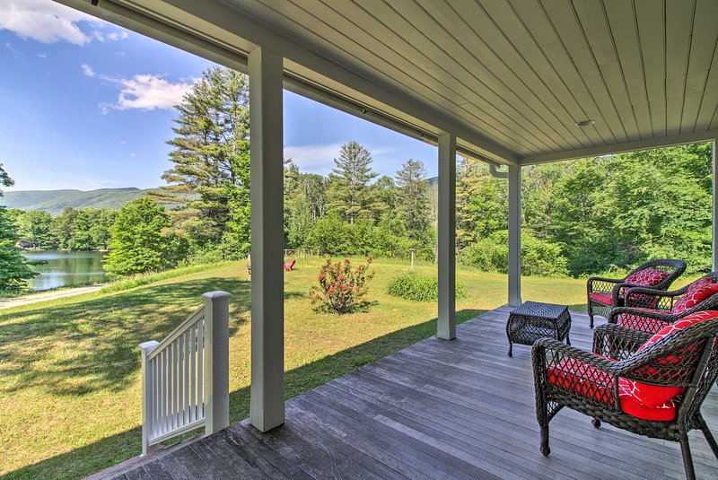 Plan your next escape to this remote vacation rental house in southern Vermont.
