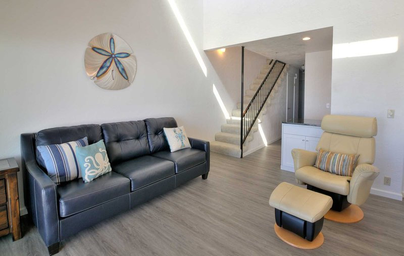 A cool reserved sense of design in harmony with a thoughtful floor-plan for total relaxation.