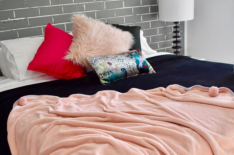 Plush velvet furnishings