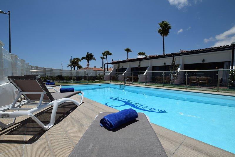 Best location8 playa Ingles 500mt of Dune Beach wifi free Residential district, vacation rental in Maspalomas