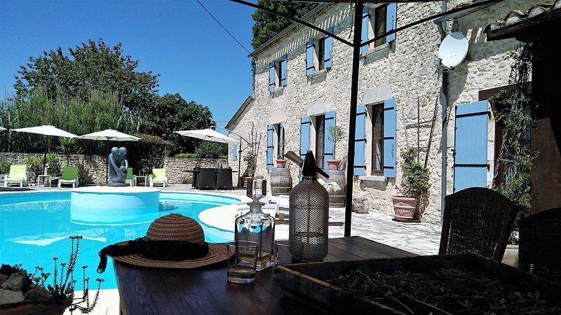 B&B Maison à votre santé , Vue de Château, Bordeaux wine-district, Saint-Emilion, holiday rental in Riocaud