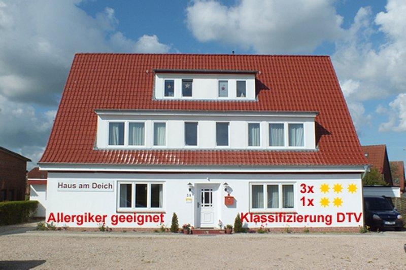 Haus Am Deich - Ferienwohnung 1, aluguéis de temporada em Dahme