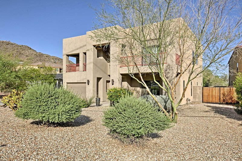 Escape the hustle and bustle of the city and unwind at this spacious Phoenix home!