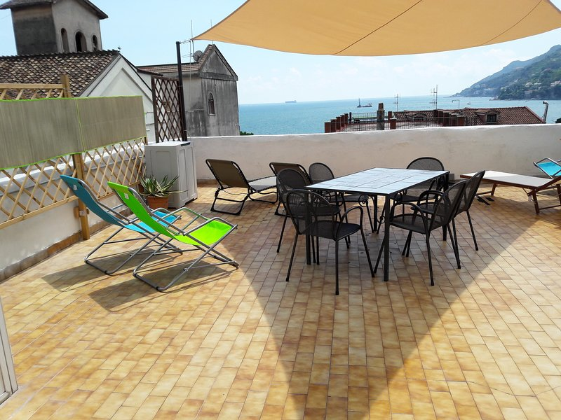 Villa Sebastian - near to the beach, seaview terrace, wifi, vacation rental in Vietri sul Mare