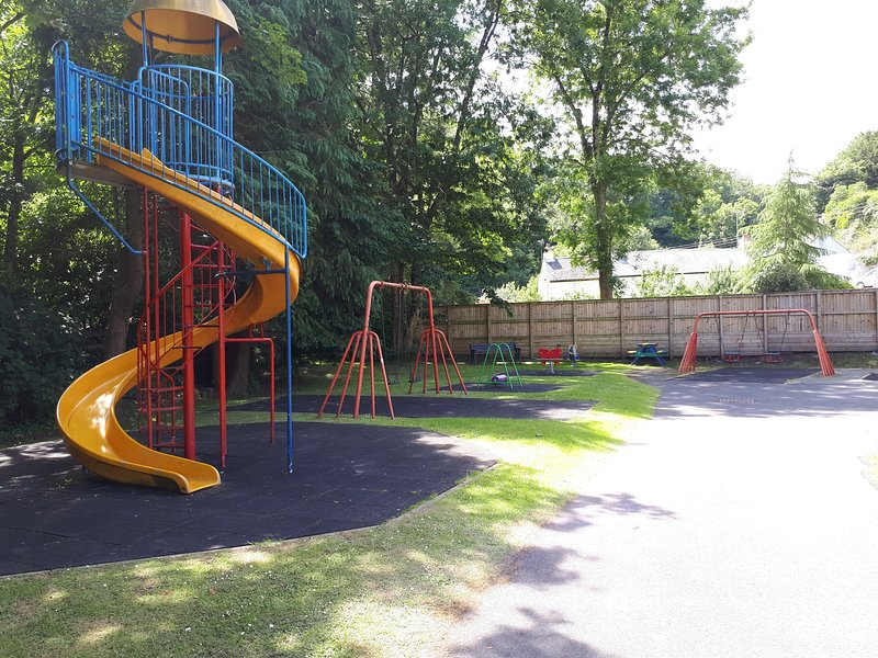 Playground in Laugharne park