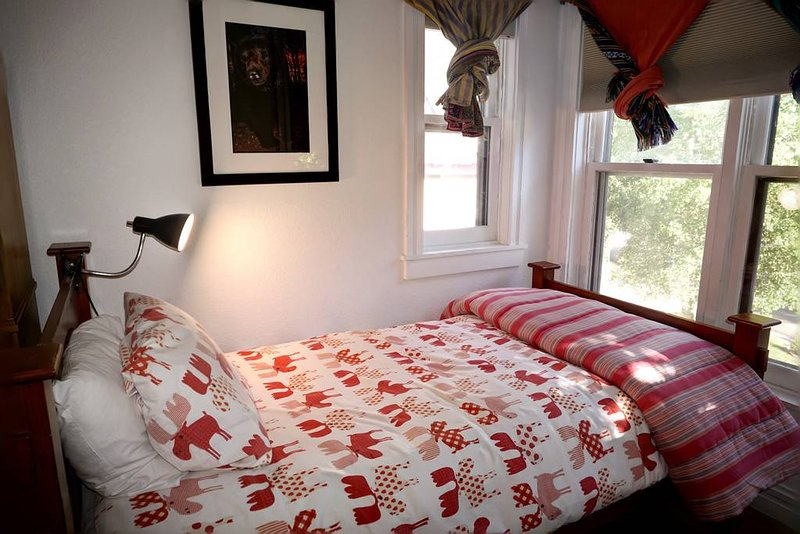 Master Bedroom with Twin and  King Beds. South facing with views of Telluride Ski Resort