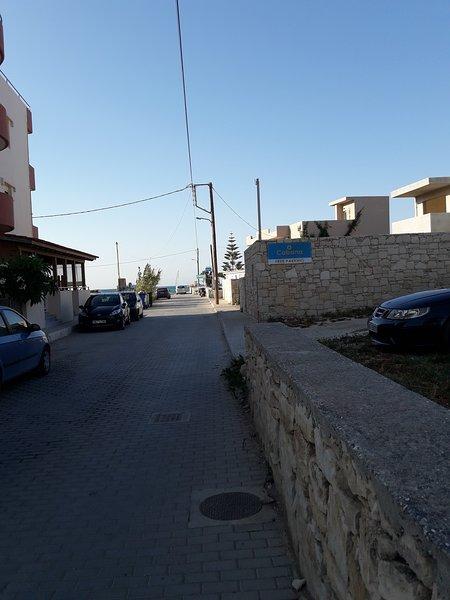 Maria Apartment by the Sea, location de vacances à Amoudara