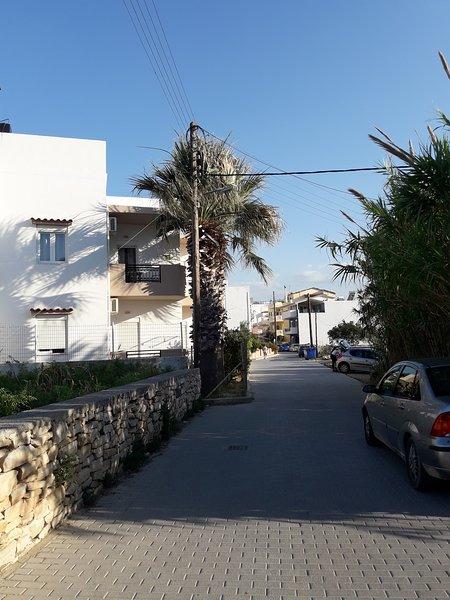 Διαμέρισμα Μαρία δίπλα στη θάλασσα, holiday rental in Ammoudara