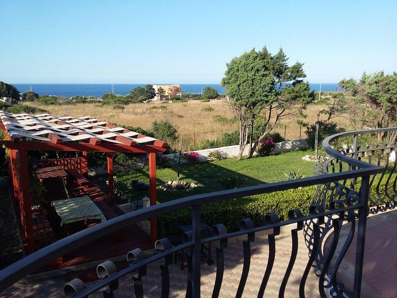 vista desde el balcón cocina