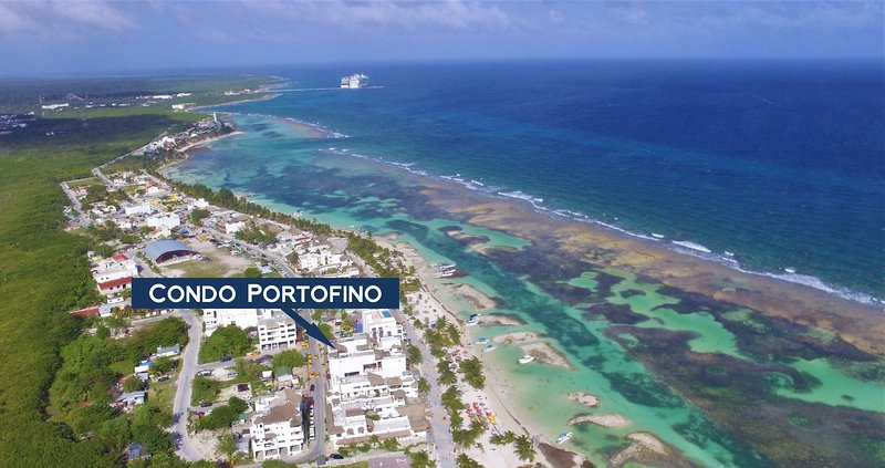 Portofino - Vista al mar/ Ocean View Apartment!!, holiday rental in Mahahual