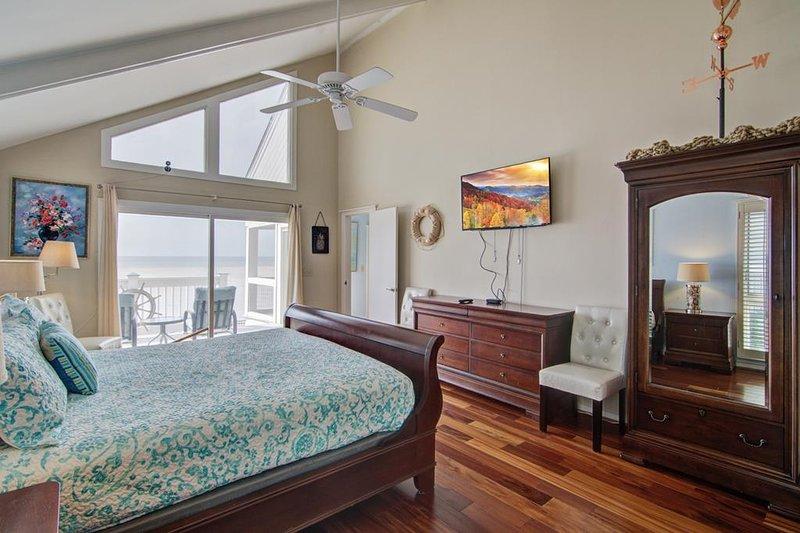 Habitación y una vista