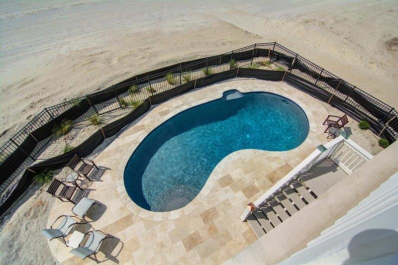 Nur privater Pool am Meer in Wild Dunes
