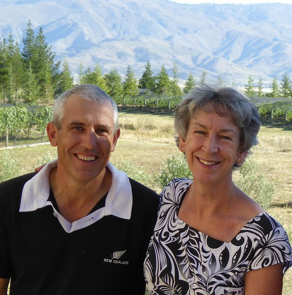 Paul and Sue, your hosts, but also the owners AND the peasants on the vineyard.