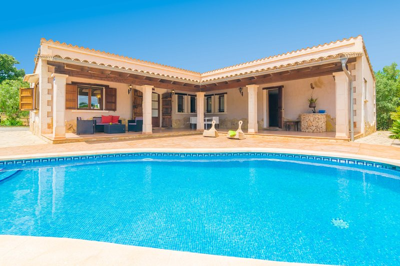 SON PERE GENET - Villa for 6 people in Búger, vacation rental in Buger