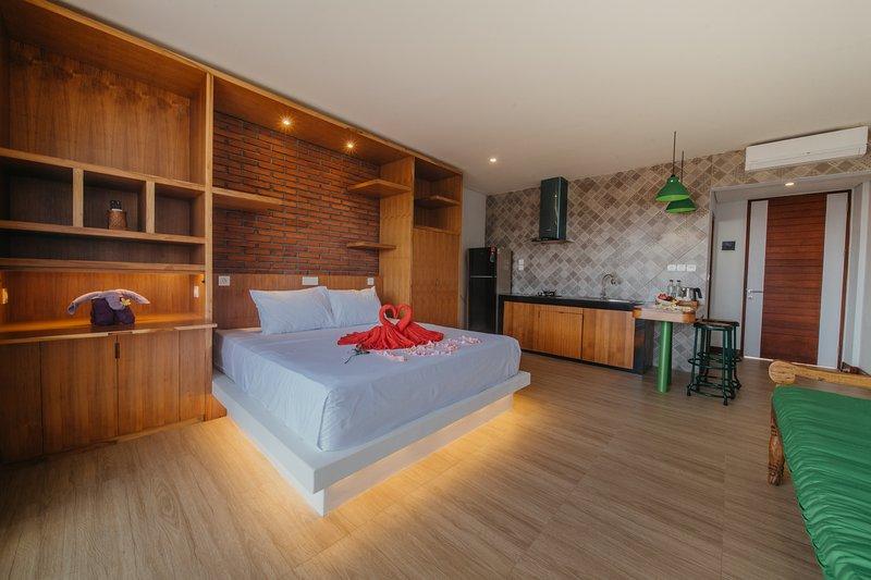 Kaen Apartments View Suite, alquiler vacacional en Seseh