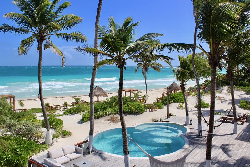 Playaakun Eco-Lux Private Beach Retreat, vacation rental in Tulum