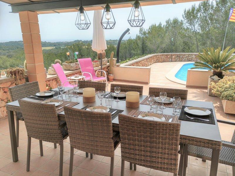 Finca en Cala Murada con vistas al mar, wifi, location de vacances à Calas de Majorca