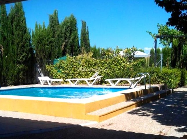 Big villa with swimming-pool & Wifi, location de vacances à Fuente Vaqueros