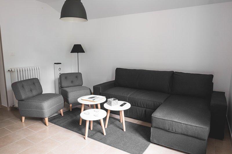 T3**** bis-parking privée- sauna balcon- salle de sport -wifi-barbecue-wifi, location de vacances à Ax-les-Thermes