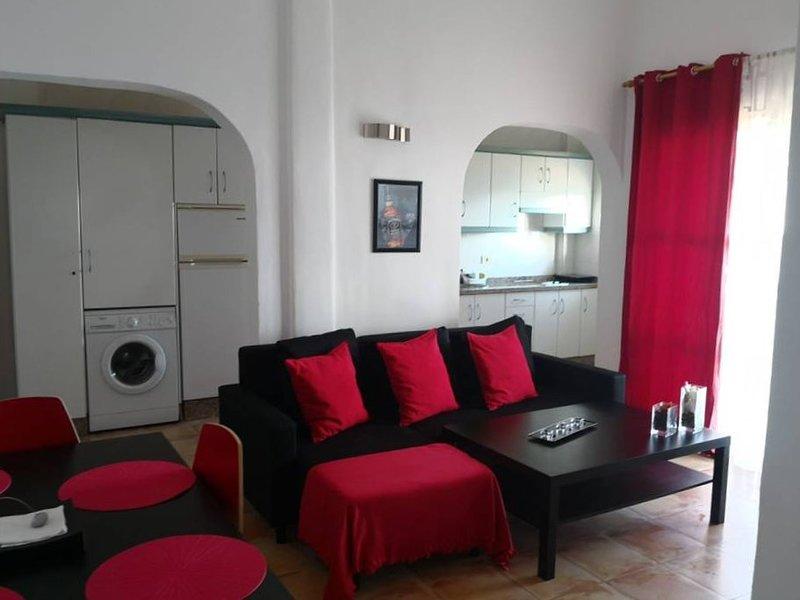 Nice apt with sea view & terrace, holiday rental in San Sebastián de la Gomera