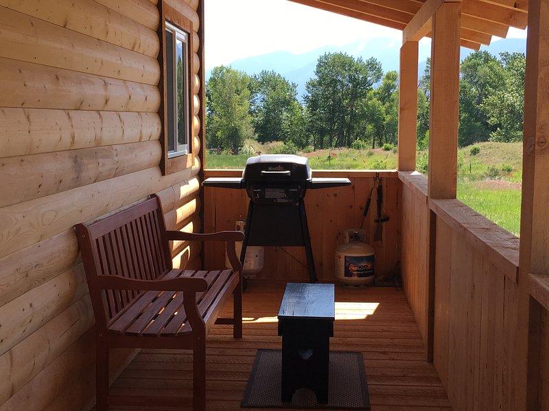 Barbecue con vista