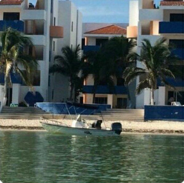 Comodo Ocean Front Condo Costa Dorada, Chicxulub, location de vacances à Progreso