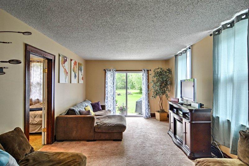 Escapar a este 3 dormitorios, 1 baño apartamento de vacaciones en Depew!