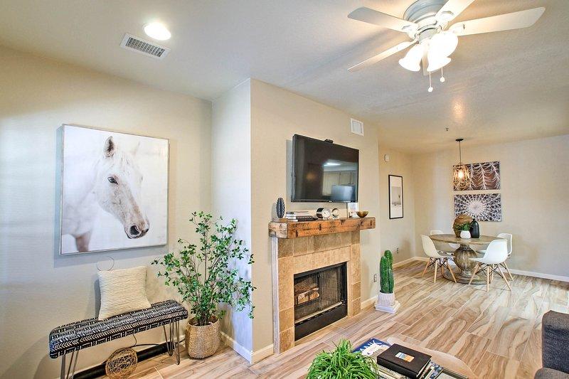 Disfrutar de esta hermosa 1 dormitorio, 1 baño Piso de alquiler en Scottsdale!