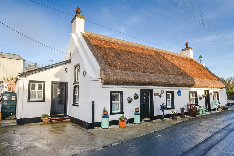 Fool's Haven Thatched Cottage, holiday rental in Carrickfergus