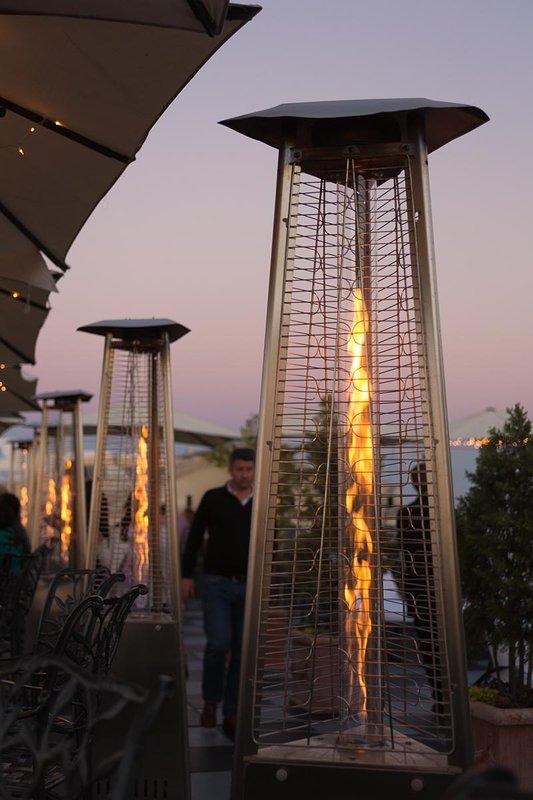 Church Street Inn Outdoor Heat Lamps