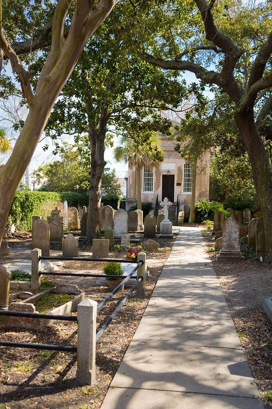 Church Street Inn Charleston Cimiteri storici