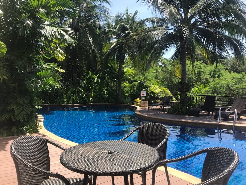 Kata Tropical Family Retreat Walk To Beach, holiday rental in Kata Beach