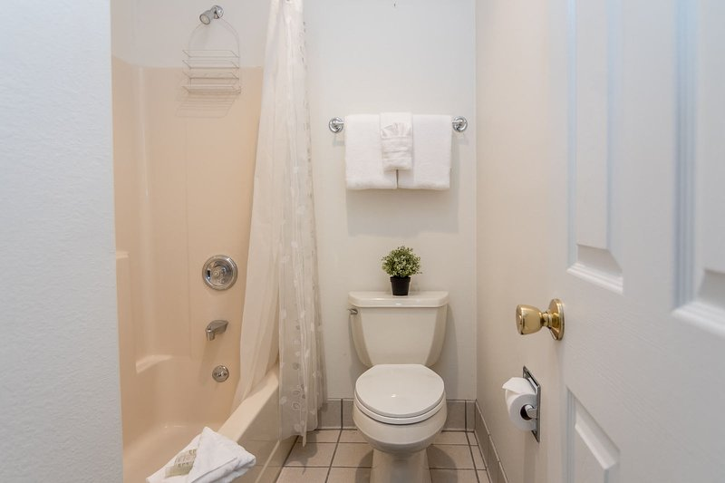 Third bedroom attached bathroom