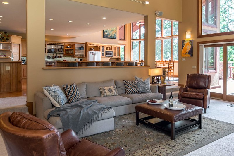 Professionally redesigned interior with new furnishings throughout