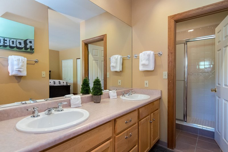 Fourth bedroom attached bathroom